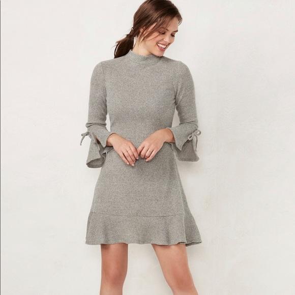 LC Lauren Conrad Dresses & Skirts - LC Lauren Conrad Sweater Dress NWT
